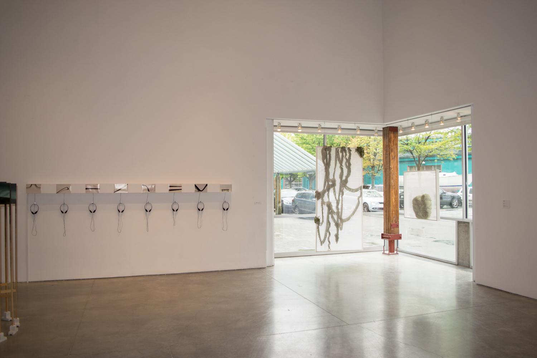 Installation view, Charles Scott Gallery, 2017.
