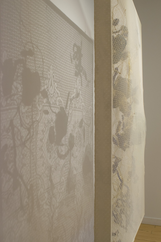 Installation view, Elissa Cristall Gallery, 2017. Photo: Liliana Sanchez.